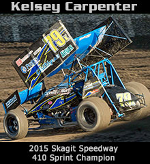 Kelsey Carpenter XXX Sprint Car Chassis