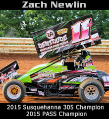 Zach Newlin Sprint Car Chassis