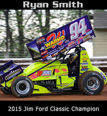 Ryan Smith XXX Sprint Car Chassis