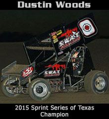Dustin Woods XXX Sprint Car Chassis