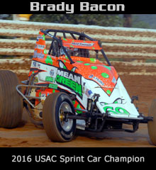 Brady Bacon Sprint Car Chassis