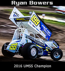 Ryan Bower XXX Sprint Car Chassis