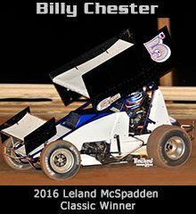 Billy Chester XXX Sprint Car Chassis