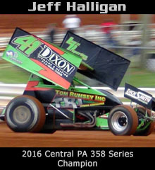 Jeff Halligan XXX Sprint Car Chassis