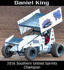 Daniel King XXX Sprint Car Chassis