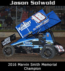 Jason Solwold XXX Sprint Car Chassis