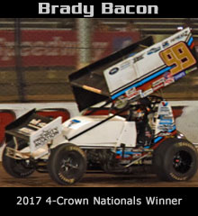 Brady Bacon XXX Sprint Car Chassis