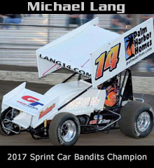 Michael Lang XXX Sprint Car Chassis