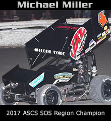 Michael Miller Sprint Car Chassis