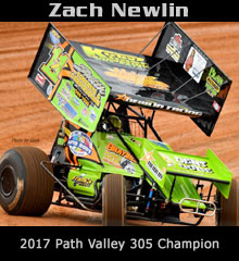 Zach Newlin XXX Sprint Car Chassis