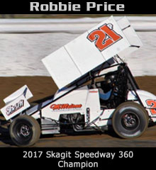 Robbie Price XXX Sprint Car Chassis