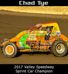 Chad Tye XXX Sprint Car Chassis