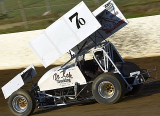 Chase Goetz Sprint Car Chassis