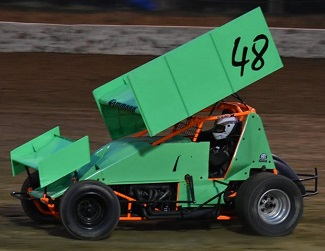 Derek Hammond Sprint Car Chassis