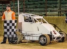 Jake Moore 600 Mini Sprint Chassis