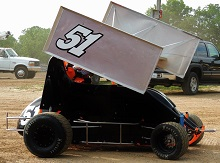 Jason Ormsby Mini Sprint Chassis