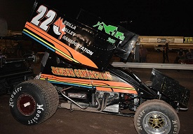 Jesse Baker Sprint Car Chassis