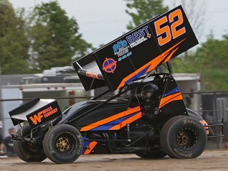Jesse Costa Sprint Car Chassis
