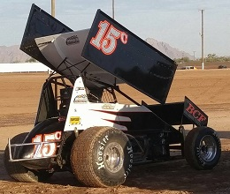 Joey Chester Sprint Car Chassis
