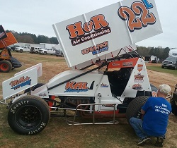 Kent Lewis Sprint Car Chassis