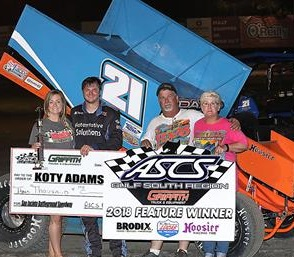 Koty Adams Sprint Car Chassis