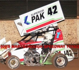 Mick Pronger 600 Mini Sprint Car Chassis