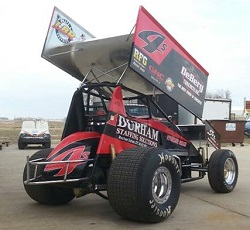 Nate Eakin Sprint Car Chassis