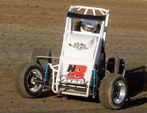 Nate Vaughn Midget Chassis