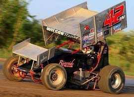 Rick Wilson Sprint Car Chassis