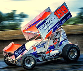 Ryan Bowers Sprint Car Chassis