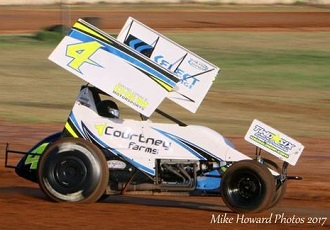 Shane Sellers Sprint Car Chassis