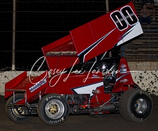 Steel Powell Sprint Car Chassis
