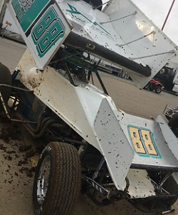 Travis Reber Sprint Car Chassis