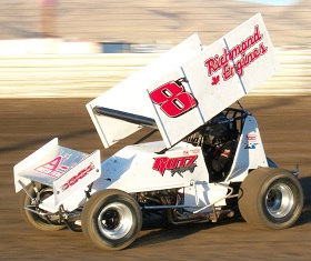 Trey Starks Sprint Car Chassis