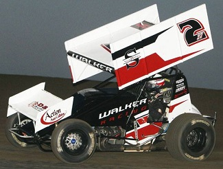 mickey walker Sprint Car Chassis